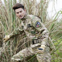 Wholesale New arrival training uniforms Army tactical clothing set cargo pants jacket camouflage army outdoor men tactical jacket set