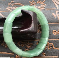 Wholesale Grade quot A quot Natural Green Jadeite Jade Gems Bracelet Bangle A168