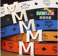 Wholesale Designer belt General belt fashionable men and women Smooth leather belt buckle