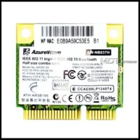 atheros wireless cards - Brand New Atheros AzureWave AR9285 AR5B195 Universal Edition AR9002WB NGCD WiFi WLAN BT Bluetooth Combo Half Mini PCI E Card