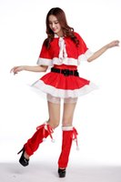beautiful female feet - Santa Cosplay Evening Dress Tunic Christmas Adult Female Christmas Dress Xmas Navidad Role Play Theme Costume Beautiful Dress For Christmas
