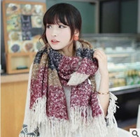 Wholesale Shanshan came Zhao Liying same paragraph the scarf circle yarn knitted scarf mohair scarves long warm shawl