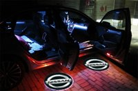 Wholesale For Hot Popular x CREE LED Car Door Logo Light Laser Welcome Guest Shadow Projector Light