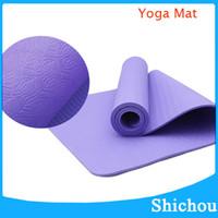 Wholesale Moistureproof Yoga Mat Broadened MM nbr Sports Mat Fitness Mat Prints Mat for Fitness cm cm DHL free ship