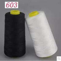 Wholesale 4pcs s sewing thread high speed terylene thread Y cone white and black color available