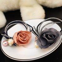 Wholesale Tulip pearl pendant hair bands Ms personality hair bands Ms hair bands Hair bands