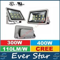 Wholesale 300W W CREE Led Floodlights Outdoor Canopy Led Lights Super Bright Led Flood Garden Lights AC V ce ul DLC