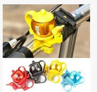 Wholesale Bicycle Bells Cycling Metal Ring Handlebar Bell Teapot Bicycle Bell Mountain Bike Folding Bike Bells Personality Bicycle Horn Bell