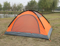 aluminum shelters - 2016 Summer Outdoors Tents Camping Shelters for Two People Double Aluminum Rod Against the Water Sunny Snow Tent DHL Fast Shipping