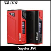 battery springs - Original Sigelei J80 Box Mod Temperature Control TC Mod Single Battery Spring Loaded Connector Red Black Color