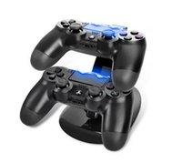 Precio de Xbox dual-Controladores de doble cargador de carga del soporte del muelle estación para Sony Playstation 4 PS4 PS 4 X-box uno 1pcs del juego del juego de la consola Wireless Controller