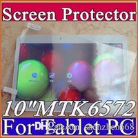 Wholesale Original Screen Protective Film Protector Guard for quot inch MTK6572 MTK6592 MTK6582 Android G Phablet Tablet PC I PG
