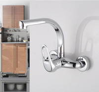 Wholesale High Quality Bathroom Kitchen Faucet Chrome Basin Sink Hot Cold Mixer Tap Single Handle Swivel Sprayer