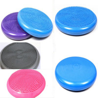 Wholesale Free DHL whole sale Yoga Balance Disc ball Fitness Stability massage cushion Wobble Air Cushion Board Ankle Knee Rehab