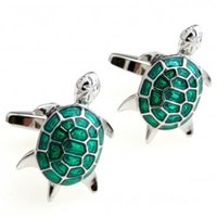 Wholesale Turtle Cufflink Cuff Link Pair Retail Promotion
