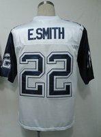 Wholesale Emmitt Smith Jersey Throwback Football Jersey Best quality Authentic Jersey Size M L XL XXL XXXL Accept Mix Order