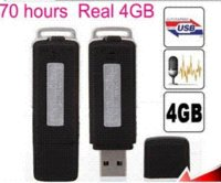 Wholesale FreeShipping UR GB USB Pen Drive Keychains Digital Audio Voice Recorder Pen Hours Long Recording