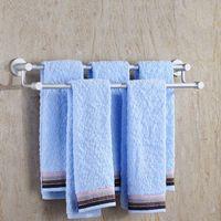 Wholesale Towel Holder Bathroom Holder Towel Rack Hardware Accessory Bathroom Hotel Towel Dryer Shelf JI0165