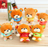 anime love movies - NEW CM I Love You pp Cotton Kid Toys Plush Doll Mini Small Teddy Bear Flower Bouquets Bear for Wedding