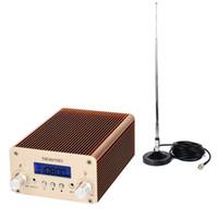 fm radio broadcast transmitter - 5W W PLL Stereo FM Transmitter Radio Station Xmitter Wireless Intelligent Broadcast System Y4338J