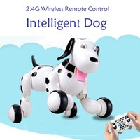 Wholesale Electric Educational Toys G Intelligent Smart Dog Robot Programmable Wireless Remote Control Simulation for Holiday Gift