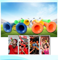 atmosphere activity - Three tone Horn Football Cheer Refueling Activities Musical Party Game Atmosphere Supplies Toys for Children