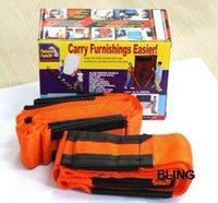 Wholesale New Hot Sale Furniture Move Carry Rope Belt Lifting Straps With Retail Box