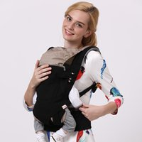 Wholesale BaoBaoLong Adjustable Baby Carriers Cotton Infant Backpack Carriers Kid Carriage Baby safe Sling Child Care Product Baby Carrier