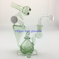 mini microscope - microscope green oil rigs mm female joint recycler function glass bong mini bong