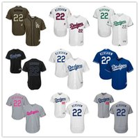 angeles black - 2016 LA Dodgers Clayton Kershaw Black Gray Blue White Celtic Majestic Los Angeles Dodgers MLB Baseball Jerseys