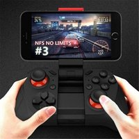 for Smartphones Wireless Controller Force Feedback Bluetooth Multi-function Wireless Game Controller for Smartphones Light Weight Design Cool Joysticks for Android Windows Phone PC