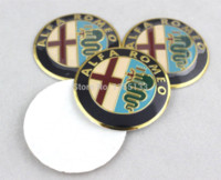 alfa alloy wheels - New ALFA ROMEO Wheel Center Cover Cap Emblem Badge Aluminum Sticker for Mito Giulietta Spider GT