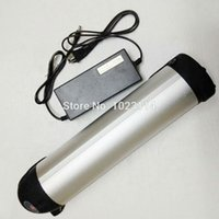 Wholesale 48V Ah Li ion Water Kettle v water bottle Battery for Samsung cell bike battery for electric bicycle e bike with charger