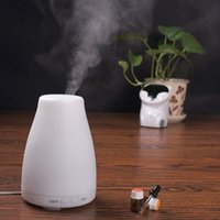 aroma oxygen bar - 100ml Essential Oil Diffuser Portable Aroma Humidifier Diffuser LED Night Light Ultrasonic Cool Mist Fresh Air Aromatherapy CAST Free DHL