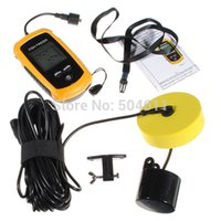 Wholesale 0 m Handheld Detect Depth Fish Location Sonar Sensor Alarm Fish Finder System Fishing Gear