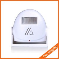 Wholesale Infrared Detector Doorbell Welcome Alarm Music Switch IR Motion Sensor