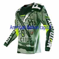army atv - Adult Vicious Jersey Army Green Motocross Dirt Bike MX ATV Mountain Bike T shirt Downhill Moto Jerseys