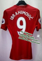 Wholesale top slim fit jersey player version pogba ibrahimovic EPL or EUROPA version