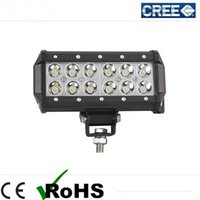 off road led - Super Bright quot W Cree LED Work Light Bar Lamp Tractor Boat Off Road WD x4 v v Truck SUV ATV Spot Flood Working Driving Light