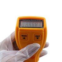 Wholesale 10pcs GM200 Paint Coating Thickness Tester Diagnostic tool Ultrasonic Gauge Digital Car Ultrasonic Paint Instrument mm Iron Meter