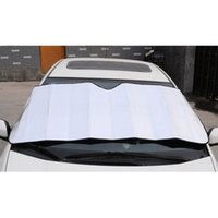 Wholesale Car Window Sun Shade Curtain Windshield Practical Foam Tapetum Lucidum Screen Sunshade Sun Cover Auto Vehicle Window Cover