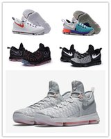 Wholesale new arrival high quality Basketball shoes Kevin Durant KD White black sneaker for men running shoes size us