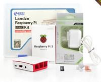Wholesale Raspberry Pi Model B kit board pi case power supply G memory card heat sink