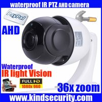 high speed camera - Waterproof outdoor P AHD high speed dome PTZ camera with LED Night Vision P PTZ dome speed camera