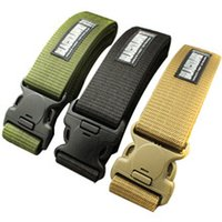 Wholesale Tactical New Military Belt Sports Outdoor Strengthening Canvas Waistband BT002