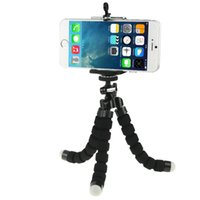 Wholesale Flexible Octopus Bubble Tripod Holder Stand Mount for phone camera tripod phone holder stand mount selfie stand mount for gopro SJ5000 SJ400