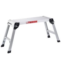 aluminum work bench - Aluminum Platform Up Folding Work Bench Stool Ladder