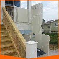 Wholesale 2m outdoor hydraulic vertical wheelchair platform lift elevator for the disabled