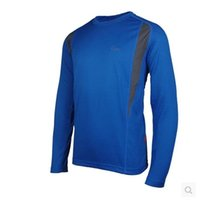 Wholesale New Design Running Long Sleeve Men s Quick Dry T Shirts