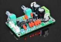 Wholesale mono preamp board NE5532 low pass filter board dedicated subwoofer use in power amplifier board mone mixer board